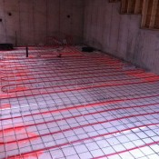 basement in slab radiant heat