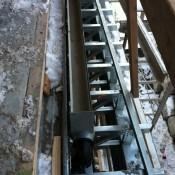 garage gutter drain